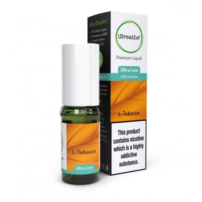 L-TOBACCO iBreathe Premium E-Liquid 10ml